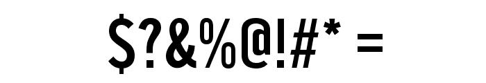 U.S. 101 Font OTHER CHARS