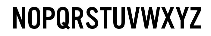 U.S. 101 Font LOWERCASE