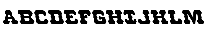 U.S. Marshal Leftalic Font UPPERCASE