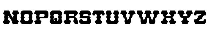 U.S. Marshal Regular Font UPPERCASE