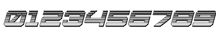 U.S.S. Dallas Chrome Italic Font OTHER CHARS