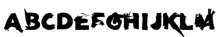 u27fog Font UPPERCASE