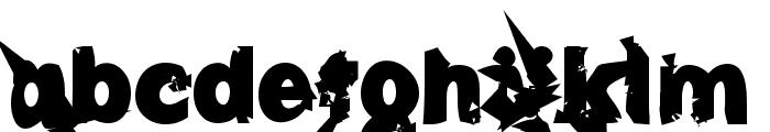 u27fog Font LOWERCASE
