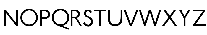 Ubahn-Light Font UPPERCASE