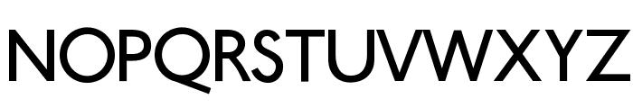 Ubahn Font UPPERCASE