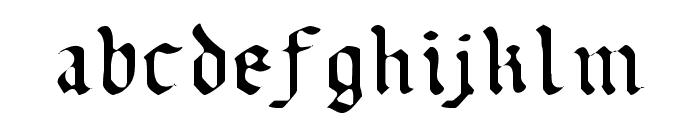 Uberh?lme Light Font LOWERCASE