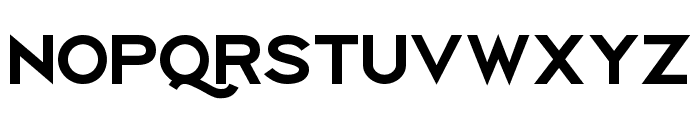 Uberlin Bold Italic Font UPPERCASE