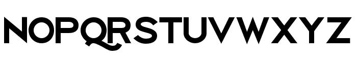 Uberlin XBold Font UPPERCASE