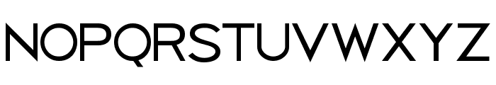 Uberlin Font LOWERCASE