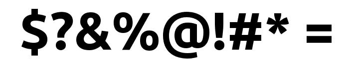 Ubuntu Bold Font OTHER CHARS