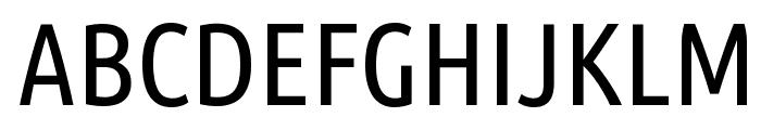 Ubuntu Condensed Font UPPERCASE