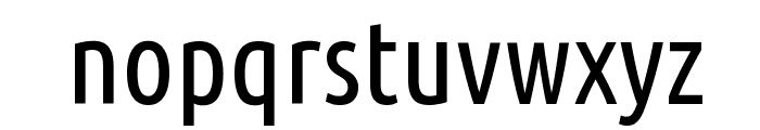 Ubuntu Condensed Font LOWERCASE