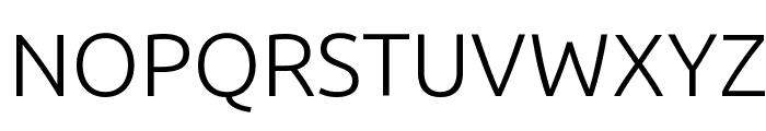 Ubuntu Light Font UPPERCASE