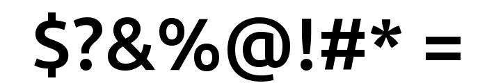 Ubuntu Medium Font OTHER CHARS