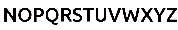 Ubuntu Medium Font UPPERCASE