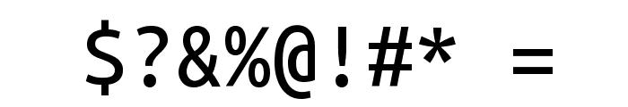 Ubuntu Mono Font OTHER CHARS