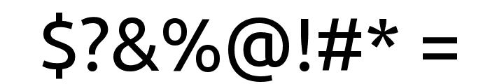 Ubuntu Font OTHER CHARS