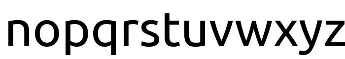 Ubuntu Font LOWERCASE