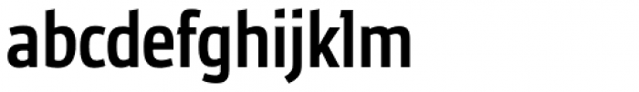 Ubik Grotesk Cond Medium Font LOWERCASE