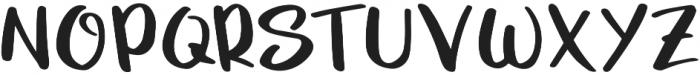 UcuAned Regular otf (400) Font UPPERCASE
