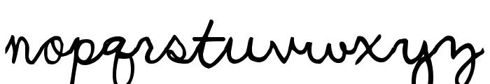UCU Charles script Font LOWERCASE