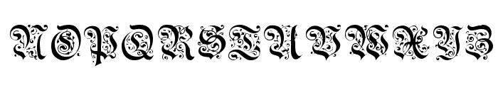 Uechi Gothic Font UPPERCASE