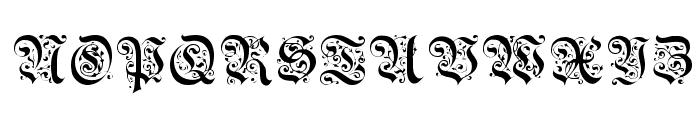 Uechi Regular Font UPPERCASE