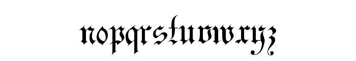 Uechi Regular Font LOWERCASE