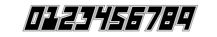 UFO Hunter Academy Italic Font OTHER CHARS