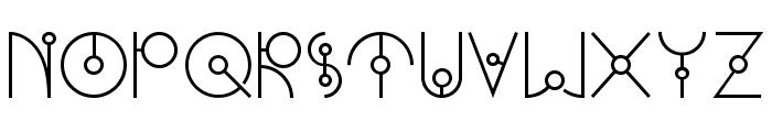 UFONEST Font UPPERCASE