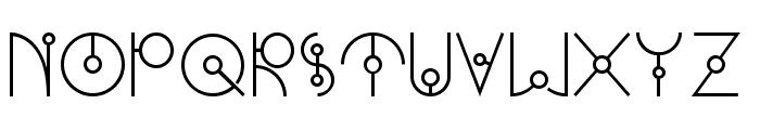 UFONEST Font LOWERCASE