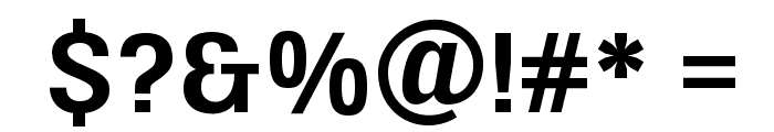 UFont Medium Font OTHER CHARS