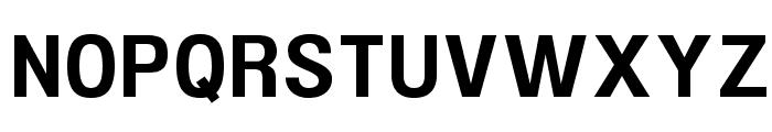 UFont Medium Font UPPERCASE