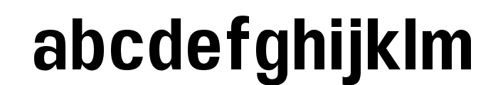 UFont Medium Font LOWERCASE