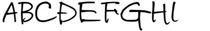 UF Masa Regular Font UPPERCASE