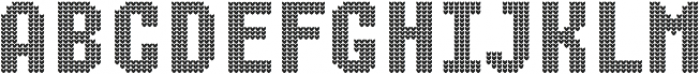Ugly Sweater Font Icons ttf (400) Font UPPERCASE