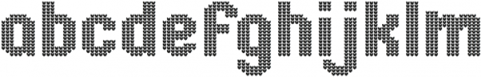 Ugly Sweater ttf (400) Font LOWERCASE