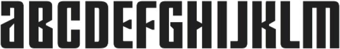 Ugocranis Black otf (900) Font UPPERCASE