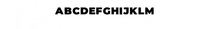 UGLY JELLY Block.ttf Font LOWERCASE
