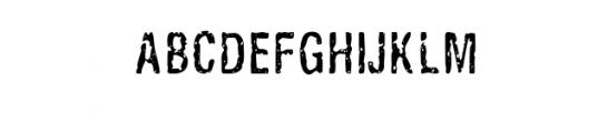 Ugly_Alligator.ttf  Font UPPERCASE