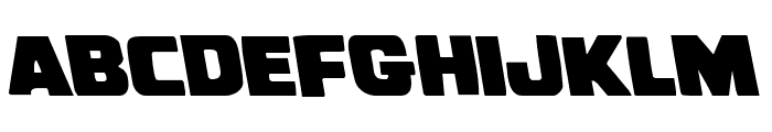 Uglier Things Leftalic Font LOWERCASE