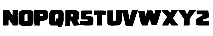 Uglier Things Mangled Font LOWERCASE