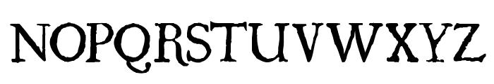 UglyQua Font UPPERCASE