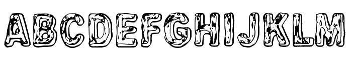 Uglygoodbad Font UPPERCASE