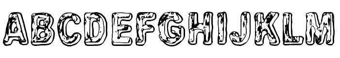 Uglygoodbad Font LOWERCASE