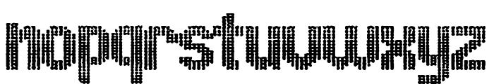 ugly font Font LOWERCASE