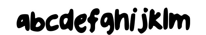 uglyhandwriting2 Font LOWERCASE