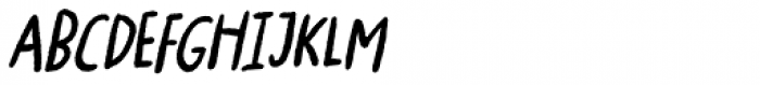 Ugiftig Italic Font UPPERCASE