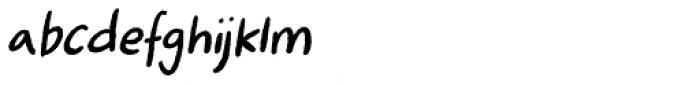 Ugiftig Italic Font LOWERCASE