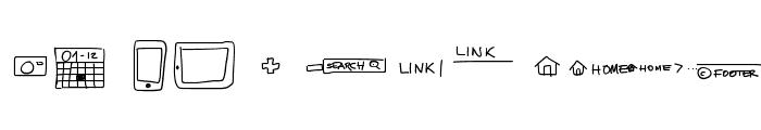 UIMockup Font LOWERCASE